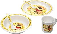 Набор детской посуды Canpol 12+ 4/401 (мишка) -