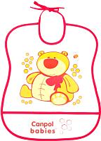 Нагрудник детский Canpol 2/919 (красный) -