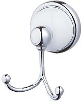 Крючок для ванны Bisk 06911 (хром/белый) -