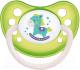 Пустышка Canpol Toys латексная анатомическая 0-6мес / 23/259 (салатовый,со светящимся колечком) -