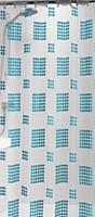 Шторка-занавеска для ванны Sealskin PCV Happy 210721324 (180x200, голубой) -