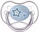 Пустышка Canpol Newborn Baby силиконовая круглая 6-18мес / 22/563 (голубой) -