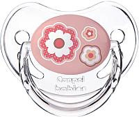 Пустышка Canpol Newborn Baby силиконовая анатомическая 0-6мес / 22/565 (розовый) -