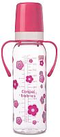 Бутылочка для кормления Canpol 12+ / 11/815 (250мл, розовый) -