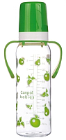 Бутылочка для кормления Canpol 12+ / 11/815 (250мл, зеленый) -