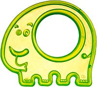 Прорезыватель для зубов Canpol Слон / 13/109 (зеленый) -