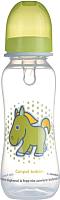 Бутылочка для кормления Canpol 0+ / 59/200 (250мл, зеленый) -