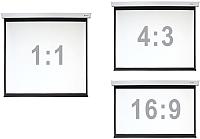 Проекционный экран Digis DSEF-4303 (206x159) -