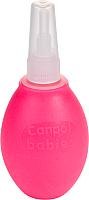 Аспиратор детский Canpol С двумя насадками / 9/119 (розовый) -