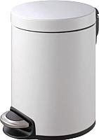 Мусорное ведро Binele Lux WP05LW (5л, белый) -