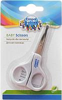 Ножницы для новорожденных Canpol Безопасные / 2/810 (белый) -