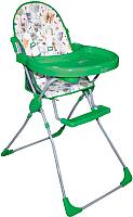 Стульчик для кормления Selby 152 Совы (зеленый) -