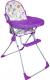 Стульчик для кормления Selby 152 Совы (фиолетовый) -