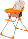 Стульчик для кормления Selby 152 Яркий луг (оранжевый) -