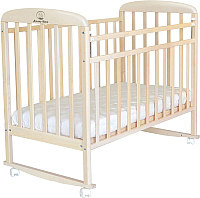Детская кроватка Альма-Няня Милана 180115-5 (береза снежная) -