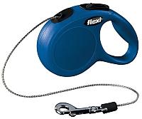 Поводок-рулетка Flexi New Classic Cat FLX163 3м (голубой) -