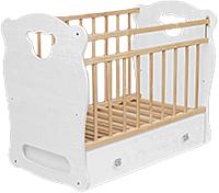 Детская кроватка VDK Orso (белый) -