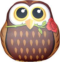 Подушка-игрушка Мнушки Сова с цветком / T3500C1711A027BR -