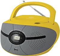 Магнитола BBK BX195U (желтый) -