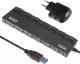 USB-хаб Ginzzu GR-388UAB -