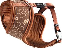 Шлея Rogz Lapz Trendy Wrapz Brown Bones XS 8mm /RWR520J -