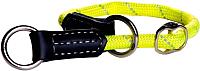 Ошейник-полуудавка Rogz Rope Obedience 9мм / RHBR0935H (желтый) -