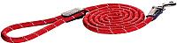 Поводок Rogz Rope Lijn Lang 6мм / RHLLR06C (красный) -