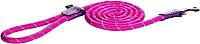 Поводок Rogz Rope Lijn Lang 6мм / RHLLR06K (розовый) -