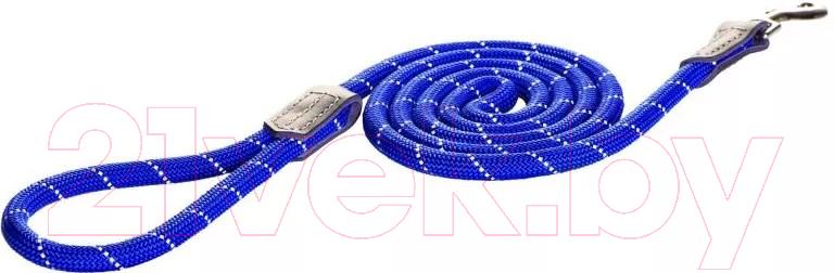 Купить Поводок Rogz, Rope Lijn Lang 9мм / RHLLR09B (синий), Юар, нейлон