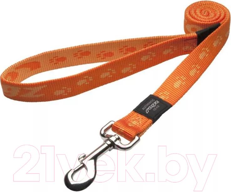 Купить Поводок Rogz, Everest Lijn 25мм / RHL27D (оранжевый), Юар, нейлон