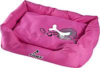 Лежанка для животных Rogz Spice Pod / RPPM20 (M, pink bone) -