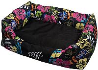 Лежанка для животных Rogz Spice Pod Large Dayglo Floral Largel / RPPL26 -