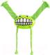 Игрушка для животных Rogz Grinz Flossy Large / RFGR05L (лайм) -