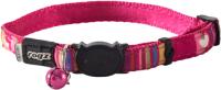 Ошейник Rogz Neocat Candystripes 11мм / RCB41K (розовый) -
