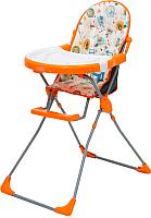 Стульчик для кормления Selby 251 Совы (оранжевый) -