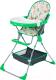 Стульчик для кормления Selby 252 Совы (зеленый) -