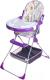 Стульчик для кормления Selby 252 Совы (фиолетовый) -