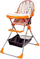 Стульчик для кормления Selby 252 Яркий луг (оранжевый) -
