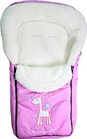 Конверт детский Selby Жирафик (розовый) -