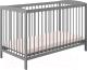 Детская кроватка Polini Kids Simple 101 (серый) -