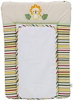 Пеленальный матрас Polini Kids Джунгли (70x50) -