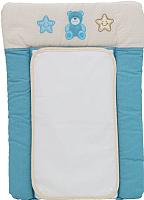 Доска пеленальная Polini Kids Плюшевые мишки (70x50, голубой) -