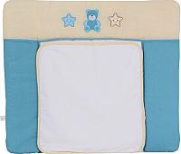Доска пеленальная Polini Kids Плюшевые мишки (85x75, голубой) -