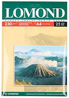 Бумага Lomond А4, 230 г/м, 25 л. / 0102049 (глянцевая) -
