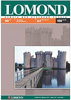 Бумага Lomond А4, 90 г/м, 100 л. / 0102001 (матовая) -