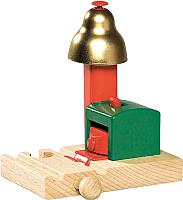 Элемент железной дороги Brio Сигнальный колокольчик 33754 -