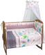Комплект постельный в кроватку Polini Kids Монстрики 7 (120x60) -