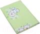 Пододеяльник детский Фея Мишки (110x140, зеленый) -