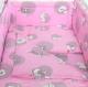 Комплект в кроватку Фея Наши друзья (розовый) -