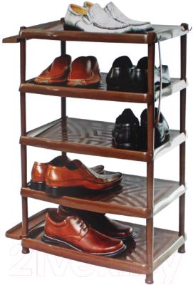 Полка для обуви Berossi АС 14116001 (коричневый)